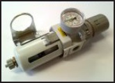 Filter-Regulator and Gauge