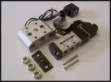 Single Solenoid Valve, Volt Coil, Led Din Plug and Manifold